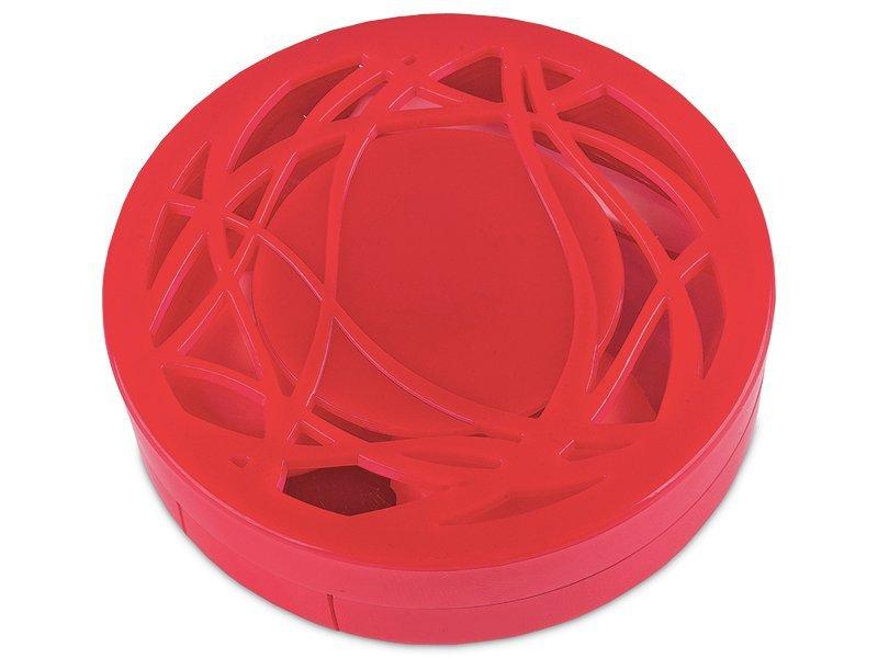 Kazeta s ornamentom - červená  - Kazeta s ornamentom - červená
