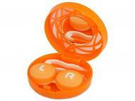 Puzdra a kazetky - Kazeta s ornamentom - oranžová