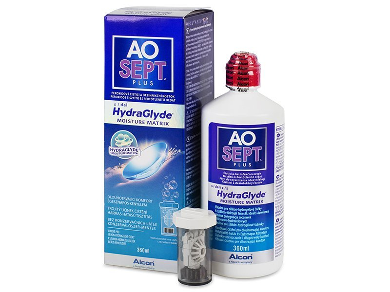 Čistiaci roztok - AO SEPT PLUS HydraGlyde 360 ml