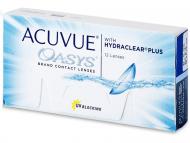 Kontaktné šošovky lacno - Acuvue Oasys (12šošoviek)