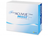 Kontaktné šošovky Johnson and Johnson - 1 Day Acuvue Moist (180 šošoviek)