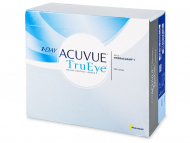 Kontaktné šošovky lacno - 1 Day Acuvue TruEye (180šošoviek)