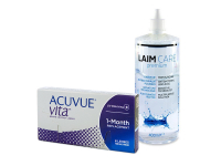 Acuvue Vita (6 šošoviek) + roztok Laim-Care 400 ml