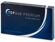 Dvojtýždenné kontaktné šošovky - TopVue Premium (6šošoviek)