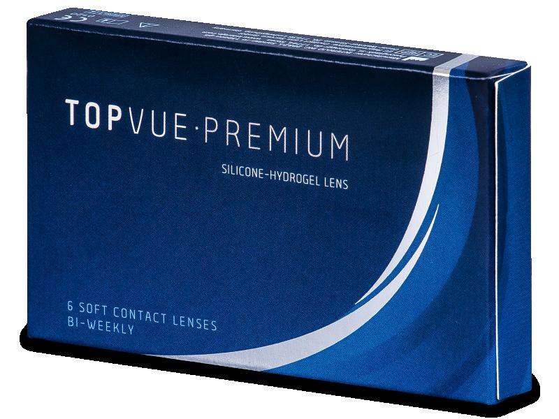 TopVue Premium (6šošoviek) - Štrnásťdenné kontaktné šošovky