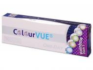 Farebné kontaktné šošovky - kozmetické očné šošovky - zmena farby očí - ColourVue One Day TruBlends Rainbow – nedioptrické (10 šošoviek)