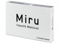 Mesačné kontaktné šošovky - Miru 1 Month (6 šošoviek)