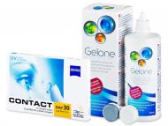 Kontaktné šošovky lacno - Carl Zeiss Contact Day 30 Spheric (6šošoviek) + roztok Gelone 360ml