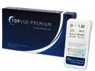 Dvojtýždenné kontaktné šošovky - TopVue Premium (1šošovka)