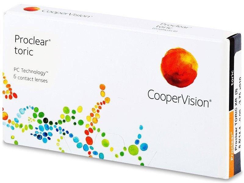 Proclear Toric XR (6 šošoviek) - Torické kontaktné šošovky