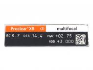 Proclear Multifocal XR (6 šošoviek) - Náhľad parametrov šošoviek