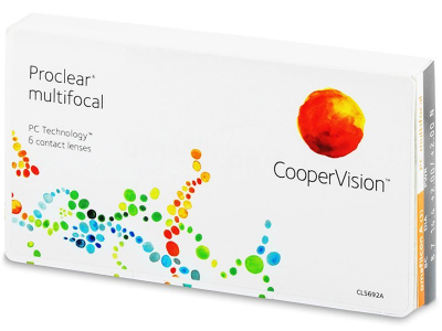 Multifokálne kontaktné šošovky - Proclear Multifocal XR (6 šošoviek)