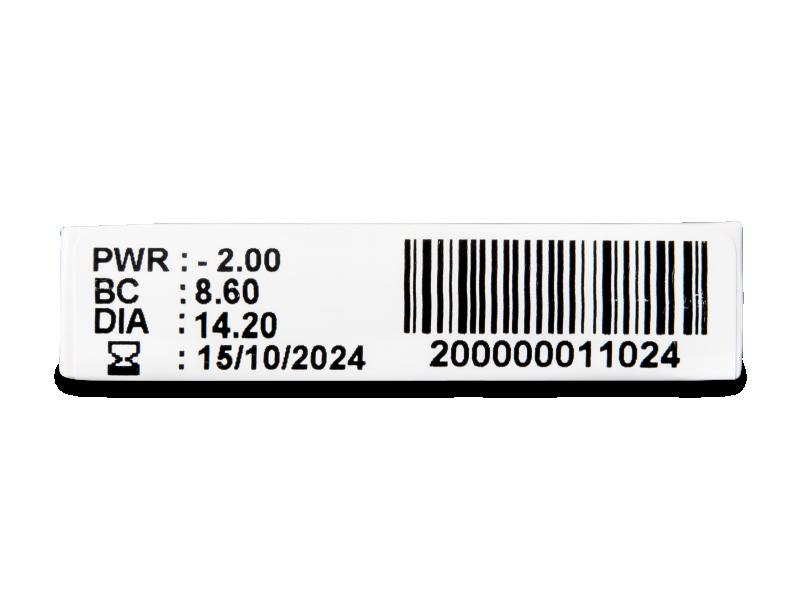 TopVue Plus (6 šošoviek) - Náhľad parametrov šošoviek