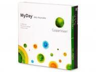 Jednodenné kontaktné šošovky - MyDay daily disposable (90šošoviek)