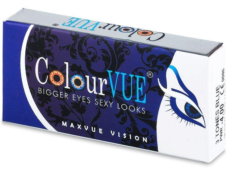 ColourVUE - 3 Tones (2šošovky) - Coloured contact lenses