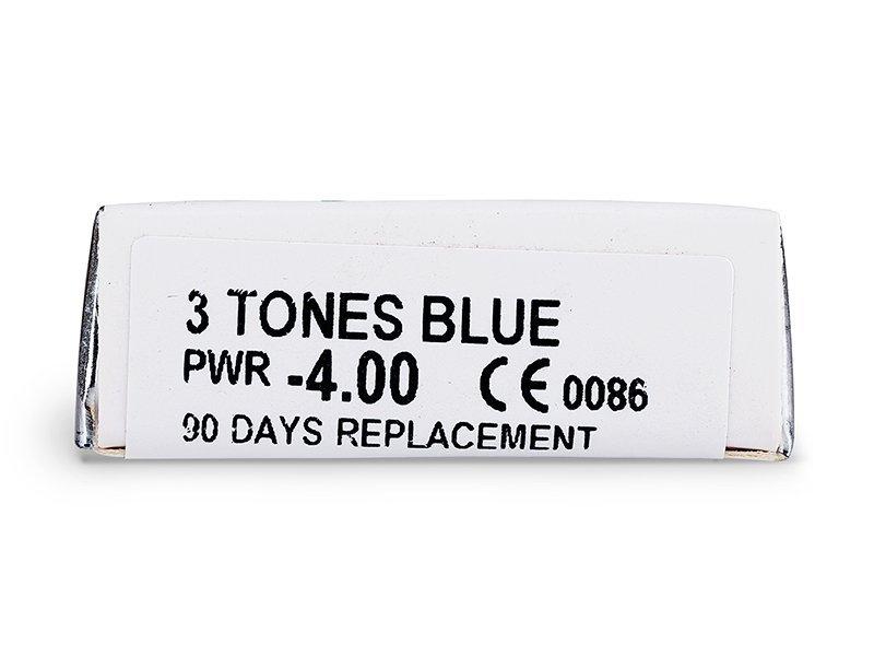 ColourVUE - 3 Tones (2šošovky) - Náhľad parametrov šošoviek