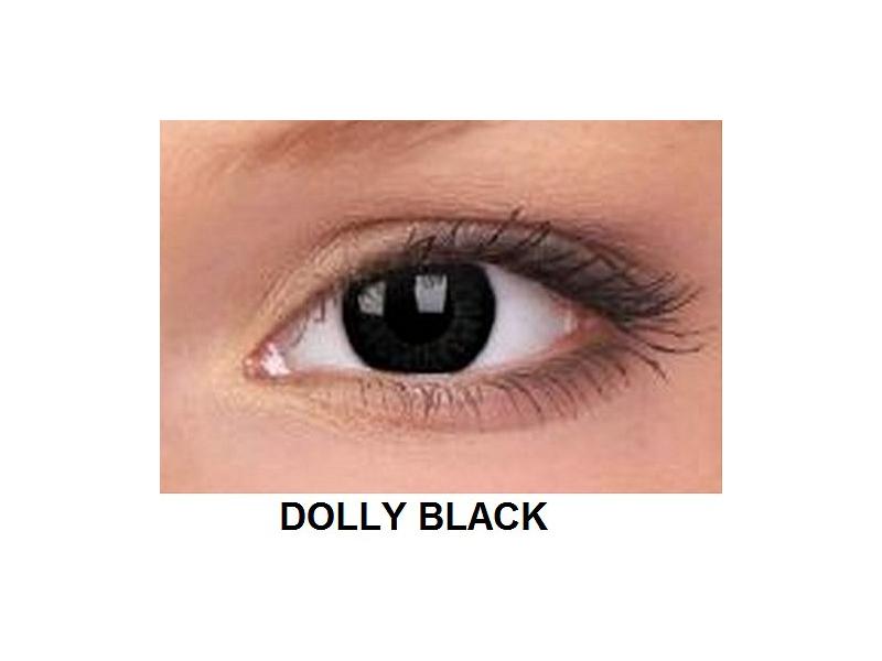 ColourVUE - BigEyes (2šošovky) - Dolly Black