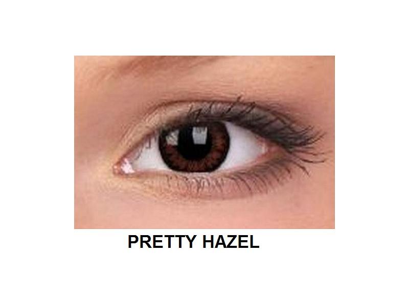ColourVUE - BigEyes (2šošovky) - Pretty Hazel