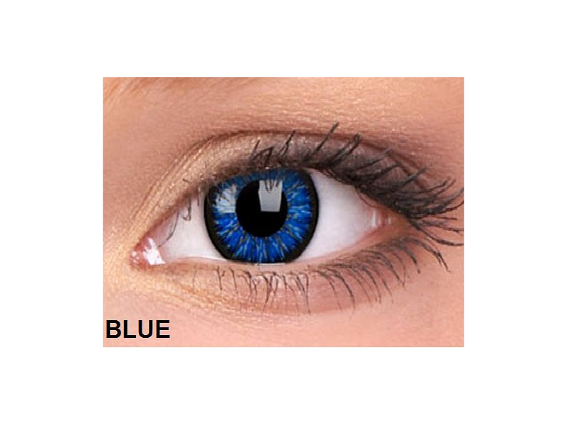 ColourVUE - Glamour (2šošovky) - Blue