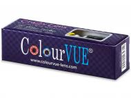 Farebné kontaktné šošovky - kozmetické očné šošovky - zmena farby očí - Crazy ColourVUE - nedioptrické (2šošovky)