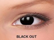 Crazy ColourVUE - nedioptrické (2šošovky) - Black Out