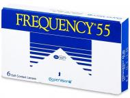 Kontaktné šošovky CooperVision - Frequency 55 (6šošoviek)