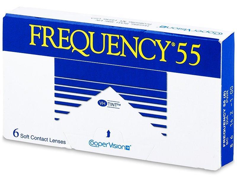 Frequency 55 (6šošoviek) - Mesačné kontaktné šošovky