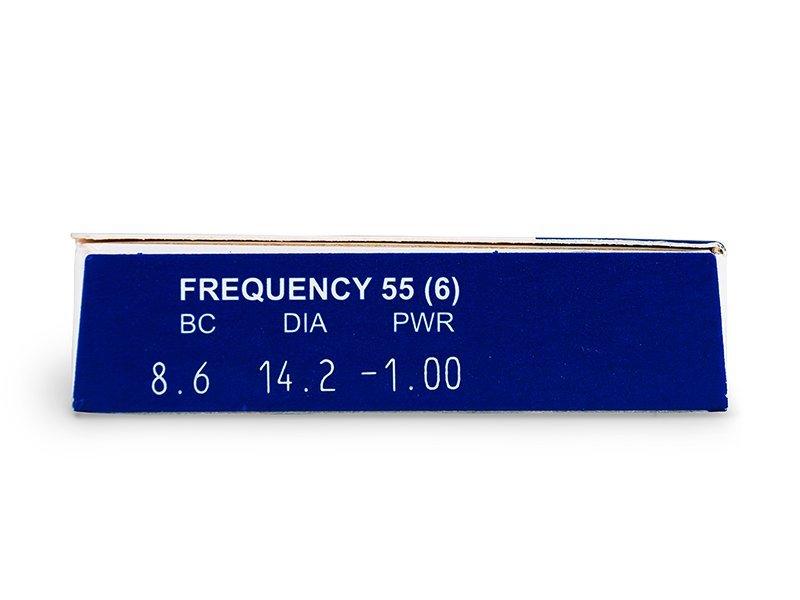 Frequency 55 (6šošoviek) - Náhľad parametrov šošoviek