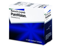 PureVision (6šošoviek) - Mesačné kontaktné šošovky