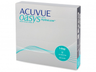 Jednodenné kontaktné šošovky - Acuvue Oasys 1-Day (90 šošoviek)