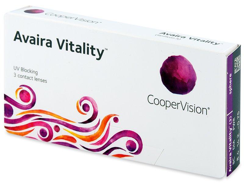 Avaira Vitality (3 šošovky) - Contact lenses