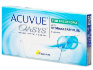 Kontaktné šošovky Johnson and Johnson - Acuvue Oasys for Presbyopia (6 šošoviek)