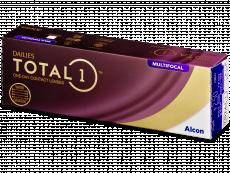 Dailies TOTAL1 Multifocal (30 šošoviek) - Multifokálne kontaktné šošovky