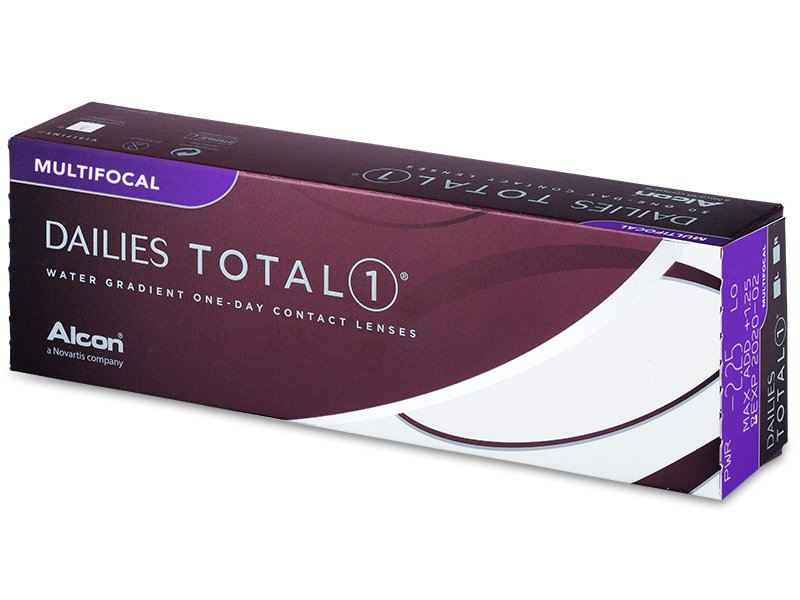 Dailies TOTAL1 Multifocal (30 šošoviek) - Jednodenné kontaktné šošovky
