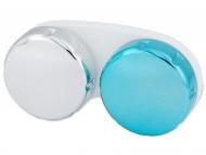 Príslušenstvo - Zrkadlové puzdro na šošovky - modré