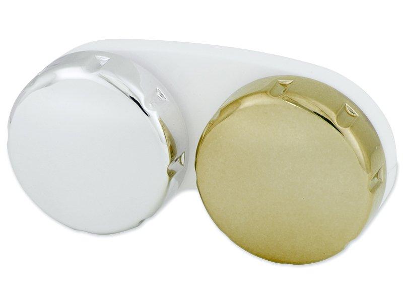 Zrkadlové puzdro na šošovky - zlaté
