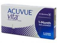 Mesačné kontaktné šošovky - Acuvue Vita (6 šošoviek)