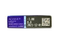 Acuvue Vita (6 šošoviek) - Náhľad parametrov šošoviek