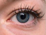 TopVue Color – dioptrické denné (10šošoviek) - Blue na šedom oku