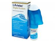 Očné kvapky - kvapky pre zvlhčenie očí - umelé slzy - Bausch and Lomb - Artelac TripleAction 10 ml