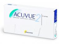 Kontaktné šošovky lacno - Acuvue 2 (6šošoviek)