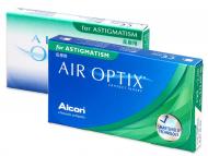 Mesačné kontaktné šošovky - Air Optix for Astigmatism (3šošovky)
