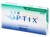 Air Optix for Astigmatism (3 šošovky)