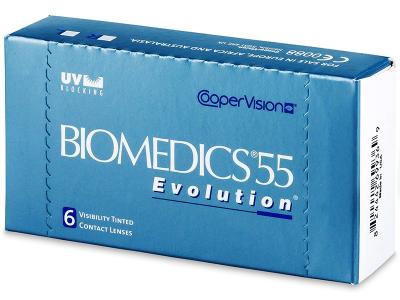 Starší vzhľad - Biomedics 55 Evolution (6šošoviek)
