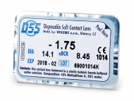 Kontaktné šošovky lacno - D55 WILENS (1šošovka)