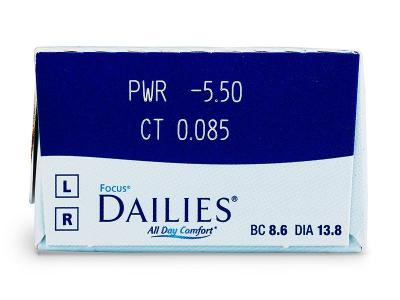 Focus Dailies All Day Comfort (30šošoviek)