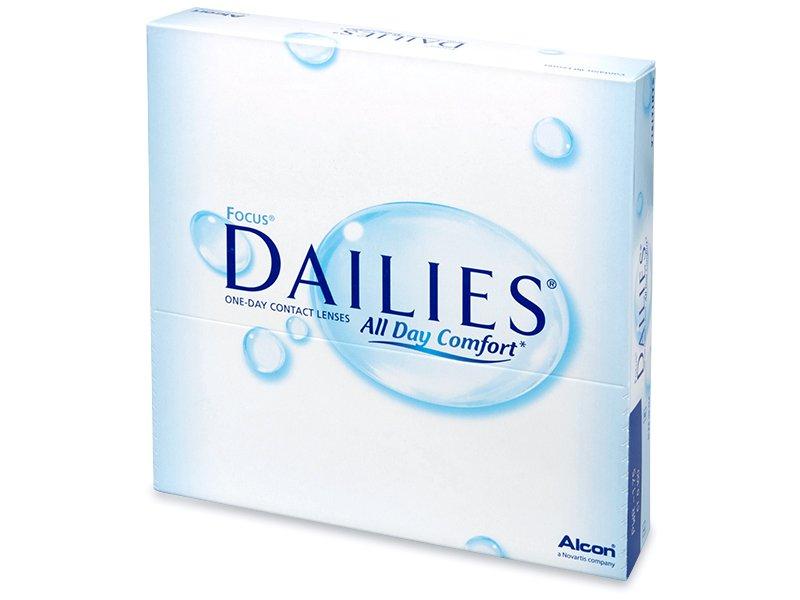 Jednodenné kontaktné šošovky - Focus Dailies All Day Comfort (90šošoviek)