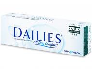 Jednodenné kontaktné šošovky - Focus Dailies Toric (30šošoviek)