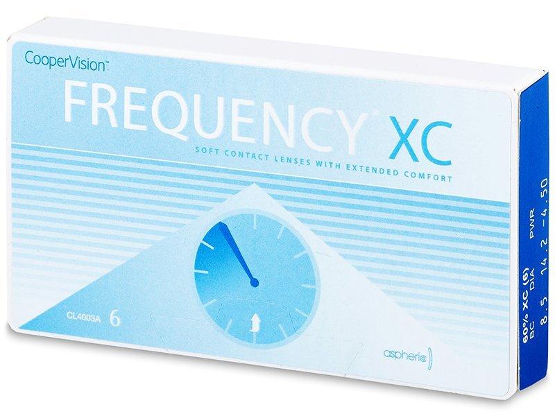 FREQUENCY XC (6šošoviek) - Mesačné kontaktné šošovky
