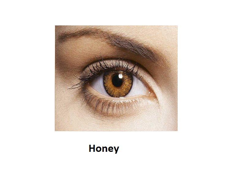 FreshLook ColorBlends  - dioptrické (2šošovky) - Honey